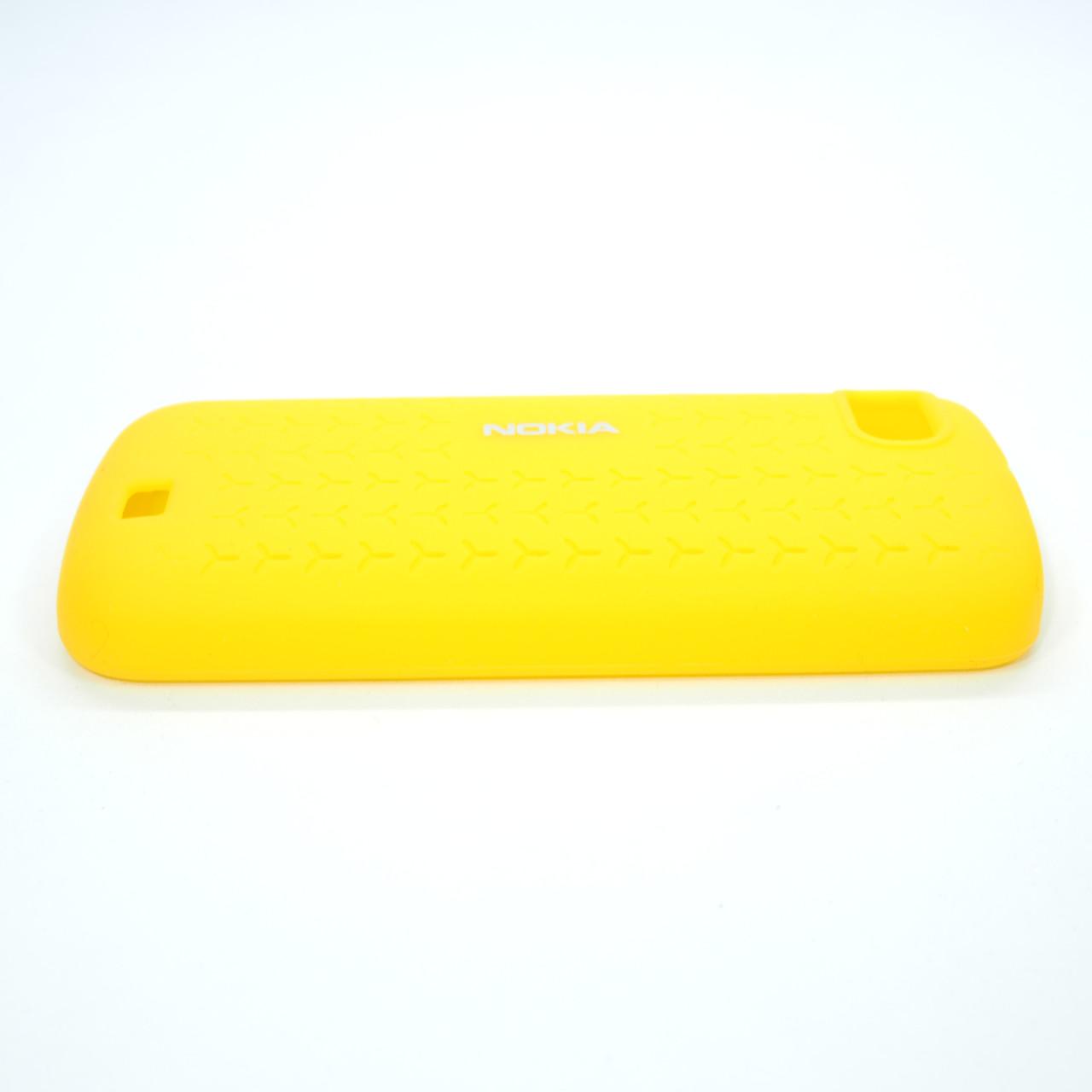 Nokia CC-1014 C3-01 Silicone Cover yellow Для телефона