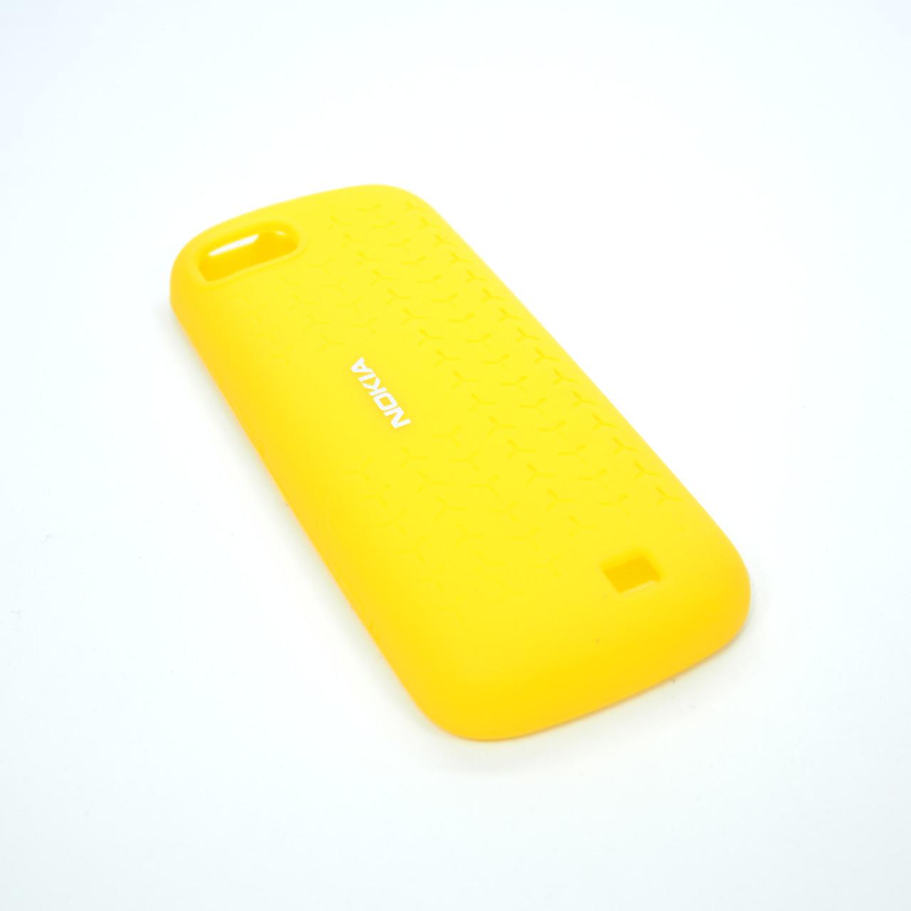 Чехлы для Nokia CC-1014 C3-01 Silicone Cover yellow Для телефона
