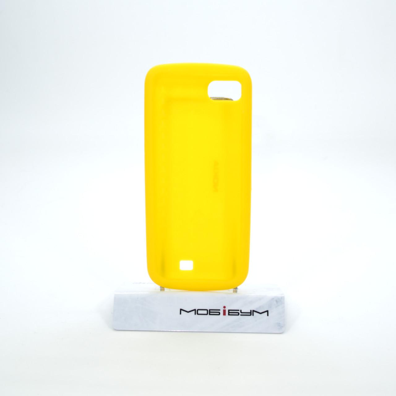 Чехлы для Nokia CC-1014 C3-01 Silicone Cover yellow