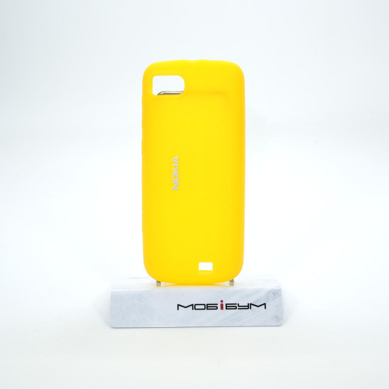 Чехол Nokia CC-1014 C3-01 Silicone Cover yellow