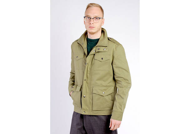 Куртка М65 оливковая, демисезон, фото 2