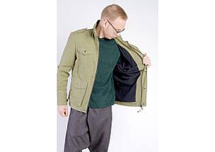 Куртка М65 оливковая, демисезон, фото 3