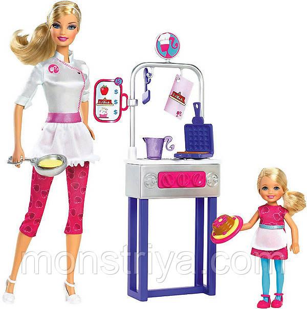 """Кукла Барби из серии """" Я могу быть...повар-блинопек"""""""