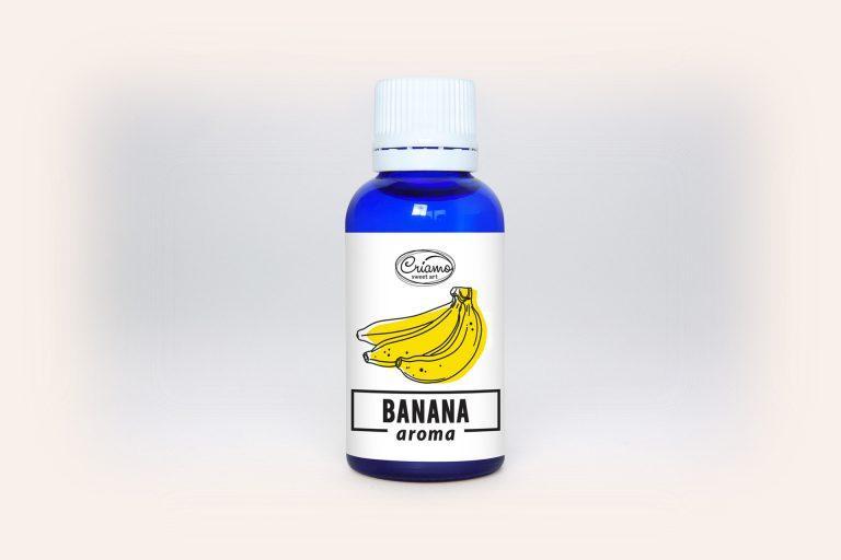 Ароматизатор Criamo Банан 30мл.- 06017