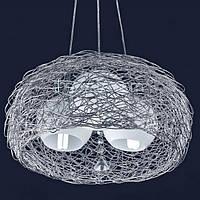 Лампа подвесная 7073101-3 серая Levistella
