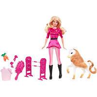 """Лялька Барбі з серії """"Я можу бути....тренер для поні"""""""