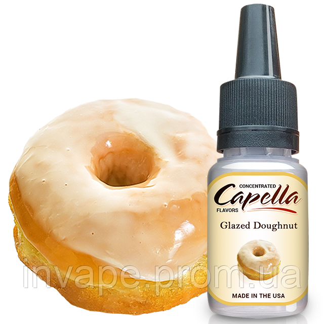 Ароматизатор Capella Glazed Doughnut (Пончик с Глазурью) 5мл