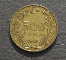 Турция 1989 год 500 лир (АП)