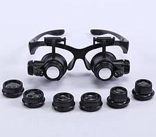 Лупа-очки со светодиодной подсветкой 9892GJ