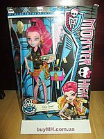 Кукла Monster High New Scaremester Gigi Grant Doll Джиджи Грант Новый скарместр