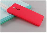 Чехол Xiaomi Redmi 5 Plus 5.99'' силикон soft touch бампер красный