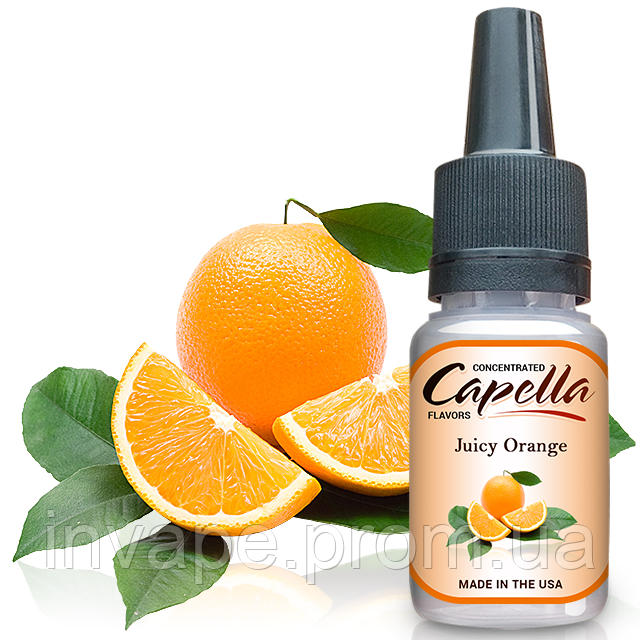 Ароматизатор Capella Juicy Orange (Сочный Апельсин) 5мл