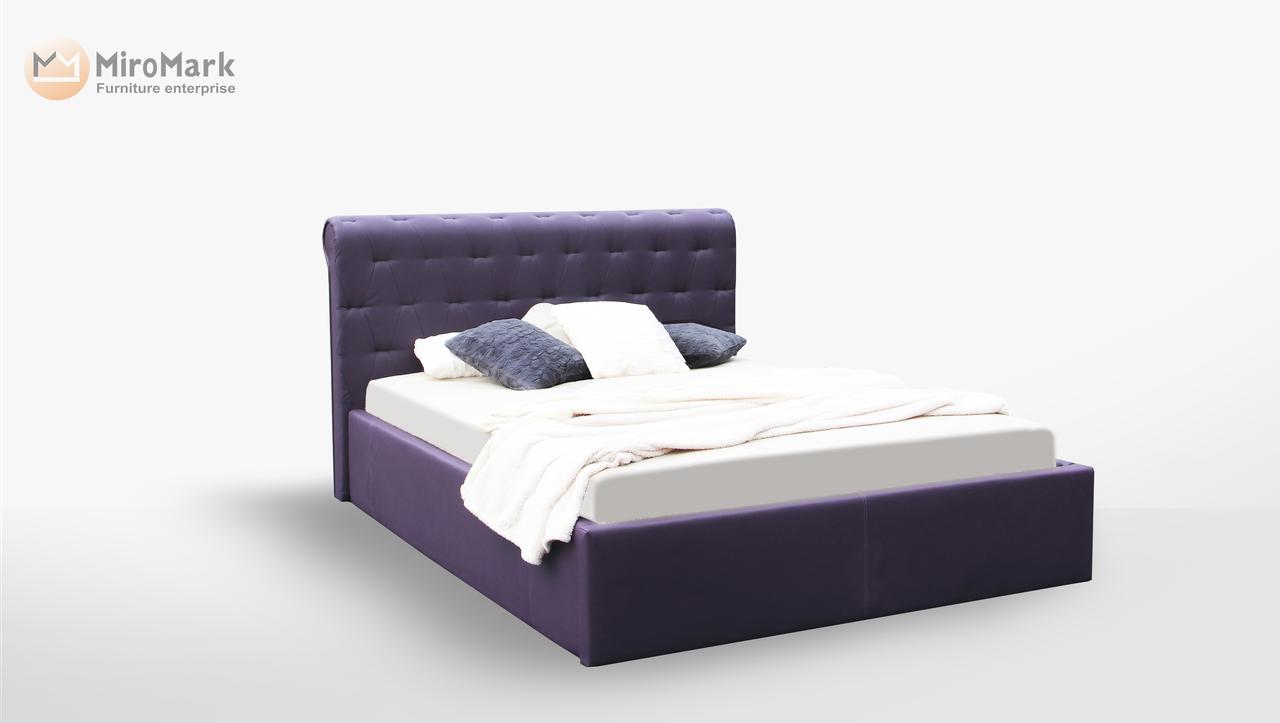 Кровать мягкая 160х200 Манчестер подъемная с каркасом Миро-Марк