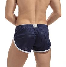 Трусы мужские Синие шорты сетка Размер M (обхват талии 62-72 см) K03.1