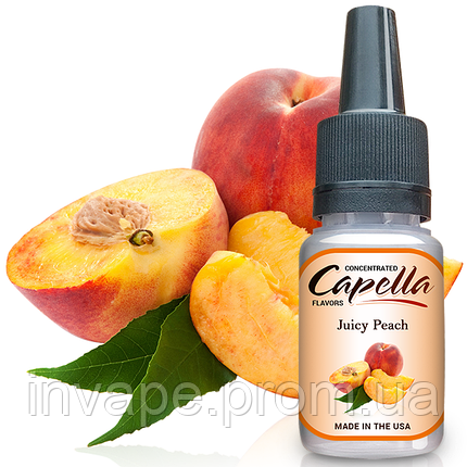 Ароматизатор Capella Juicy Peach (Сочный Персик) 5мл, фото 2