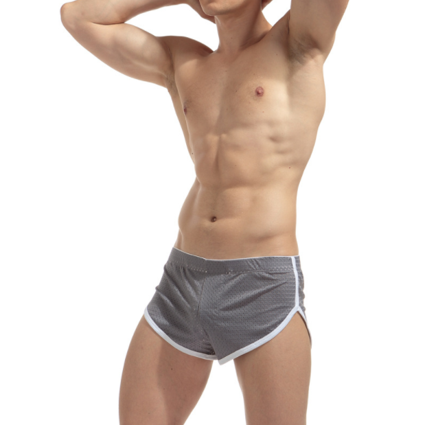 Трусы мужские Серые шорты сетка Размер M (обхват талии 62-72 см) K04.1