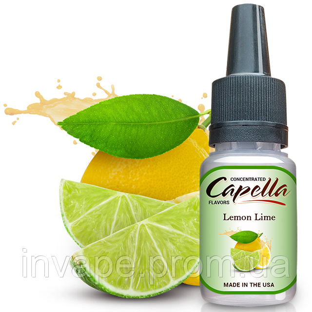 Ароматизатор Capella Lemon Lime (Лимон и Лайм) 5мл