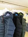 Пуховик зимний женский на тинсулейте больших размеров Кристина Размеры 46- 56, фото 6