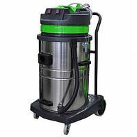 GRASS PS-0117 Профессиональный пылеводосос 2-х турбинный 70л. для сухой и влажной уборки , фото 1