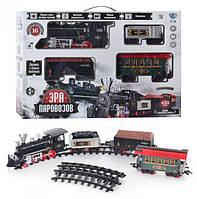 Железная дорога Limo Toy 701830 R/ YY 126, длина пути 420 см, дым, свето-звуковые эффекты