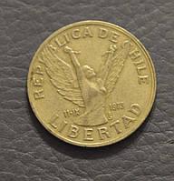 Чили 10 песо 1989 год (АП)
