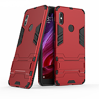 Чехол Xiaomi Redmi Note 5 / Note 5 Global / Note 5 Pro Hybrid Armored Case красный