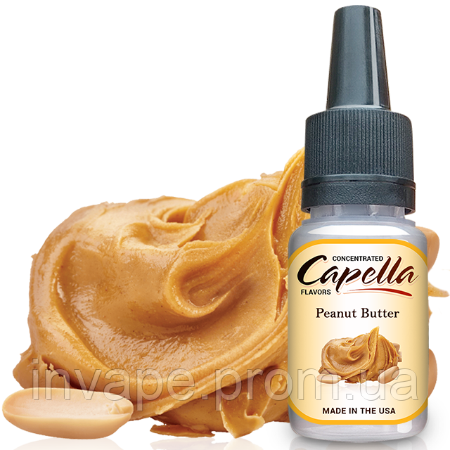 Ароматизатор Capella Peanut Butter (Арахисовое Масло) 5мл