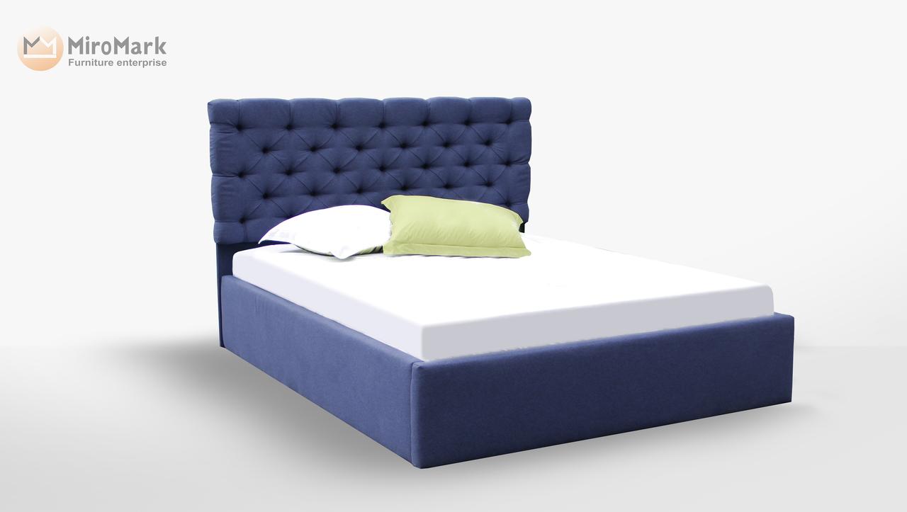 Кровать мягкая 160х200 София подъемная с каркасом Миро-Марк