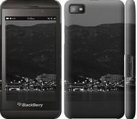 """Чехол на Blackberry Z10 Ночь на берегу """"3470c-392-328"""""""