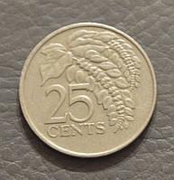 Тринидад и Тобаго 25 центов 1981 г. (АП)