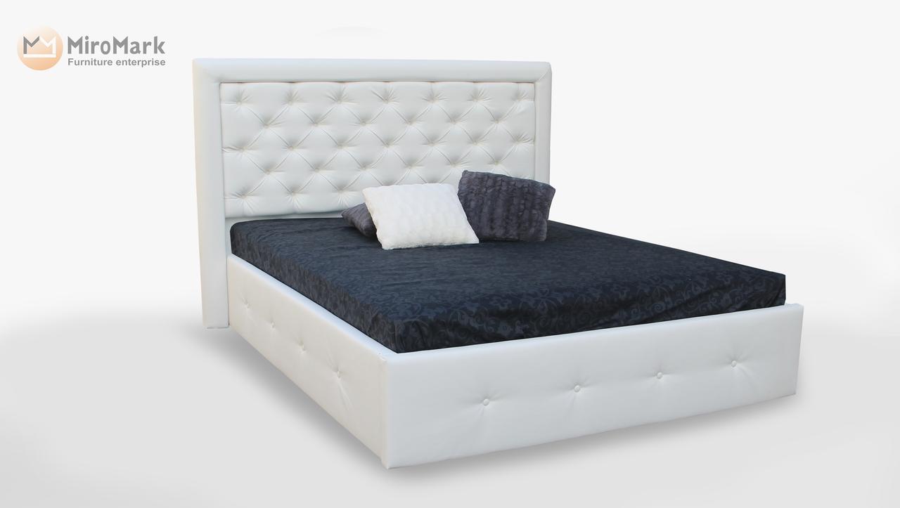 Кровать мягкая 160х200 Франко подъемная с каркасом Миро-Марк