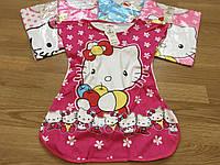 Пижамы детские для девочек, ночнушка до 9 лет