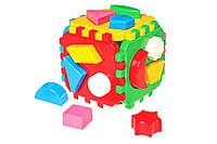 """Іграшка куб """"Розумний малюк ТехноК"""" 0458, в кульку 12×12×12 см"""