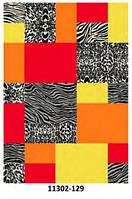 Ковёр цветной с леопардовым арнаментным рисунком разные , фото 1