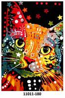 Ковёр цветной с рисунком Кошка разные , фото 1