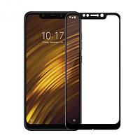 Защитное стекло для Xiaomi Pocophone F1 Full Glue Full Сover черный 0,26мм в упаковке