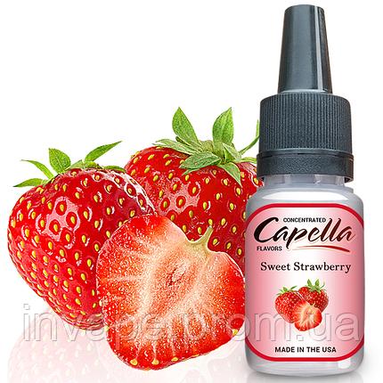 Ароматизатор Capella Sweet Strawberry (Сладкая Клубника) 5мл, фото 2