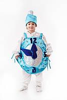 Карнавальный костюм Елочная игрушка -новогодние часы, рост 110-120 см