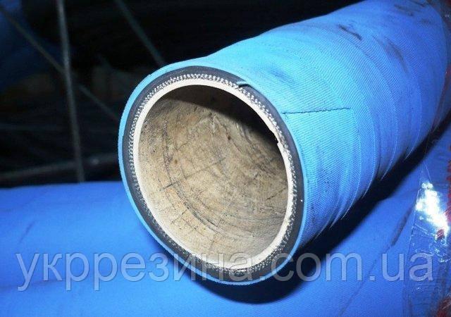 Рукав (шланг) Ø 125 мм напорно-всасывающий ПИЩЕВОЙ П-2-125-10  ГОСТ 5398-76