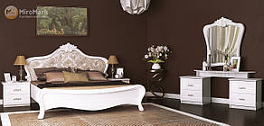 """Спальня """"Прованс"""" від Миро-Марк (глянець білий)."""