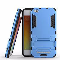 Чехол Xiaomi Redmi 4A Hybrid Armored Case голубой