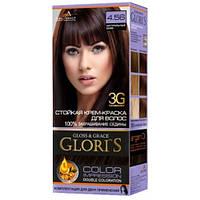 Краска для волос Gloris 4.56 Натуральный кофе, 1 окрашивание