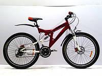Велосипед горный AZIMUT POWER G-FR-D к24, к26