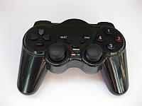 2.4GHz Wireless Dual Shock Gamepad  беспроводной геймпад для компьютера EW - 800