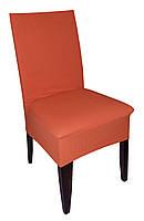 Чехол на стул фактурная полоса Оранж , фото 1