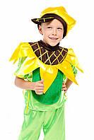 Карнавальный костюм Подсолнух, рост 115-125