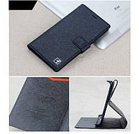 Чехол Xiaomi Redmi 3 книжка Flower Ultrathin черный