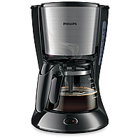 Кофеварка Philips HD7435/20 inox/black