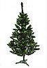 Искусственная зеленая елка Швейцарская салатовый кончик с шишками 2,2м