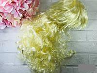 Карнавальный парик кучерявый длинный, 53 см
